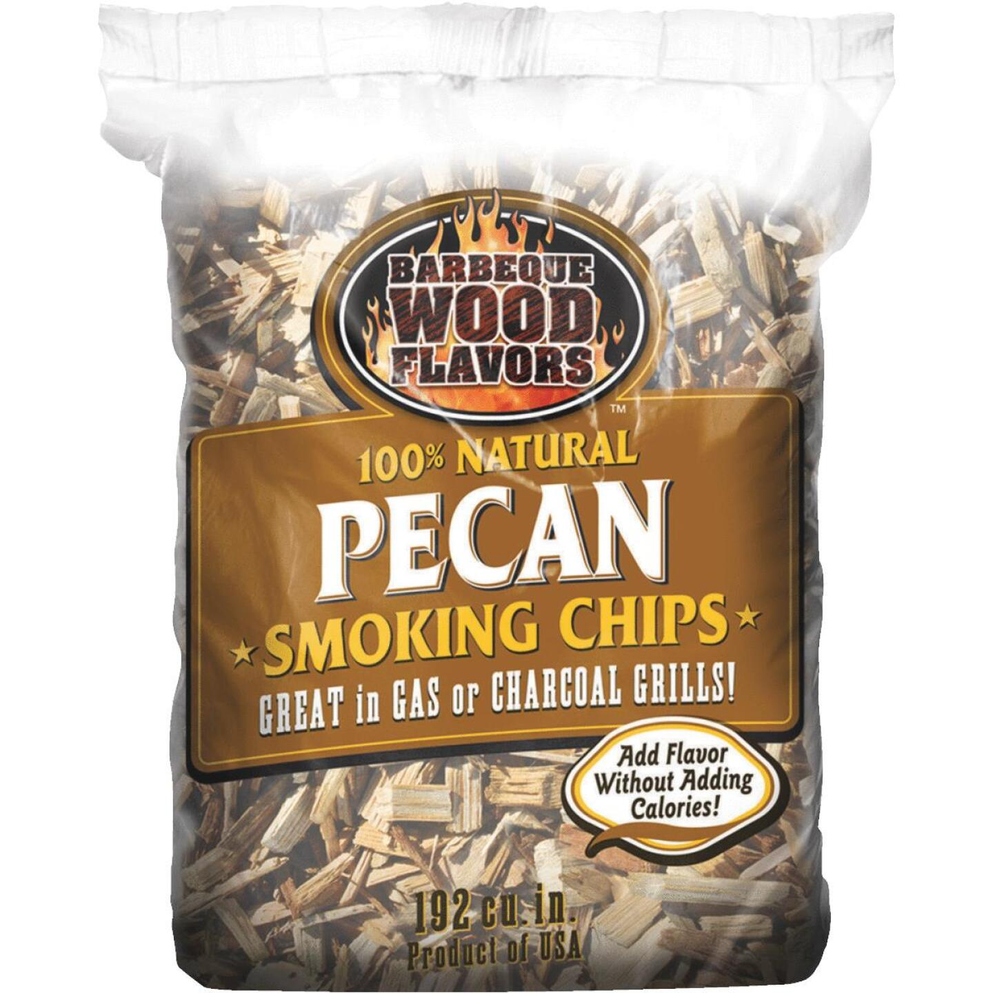 Barbeque Wood Flavors 2.25 Lb. Pecan Smoking Chips Image 1