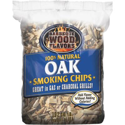 Barbeque Wood Flavors 2.25 Lb. Oak Smoking Chips