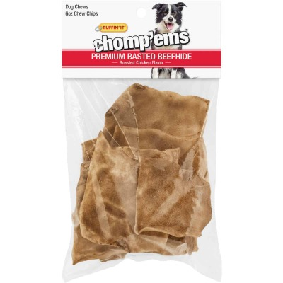 Westminster Pet Ruffin' it Chomp'ems 6 Oz. Chicken Rawhide Chips