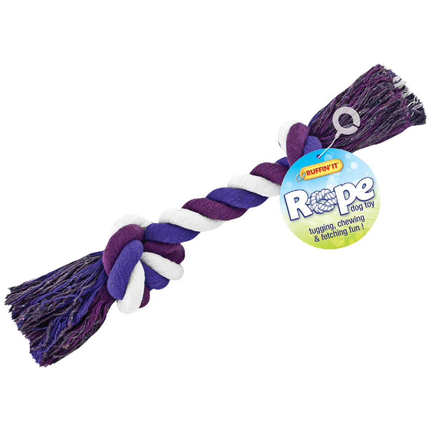 Westminster Pet Ruffin' it Large Multi-Colored Rope Tug Dog Toy Image 1