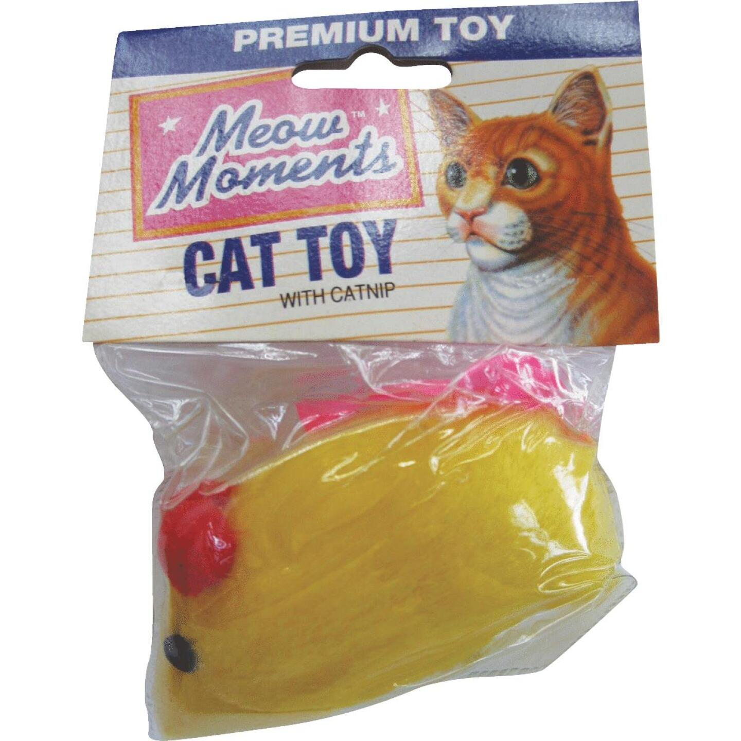 Westminster Pet Ruffin' it Plush Mouse Cat Toy Image 2