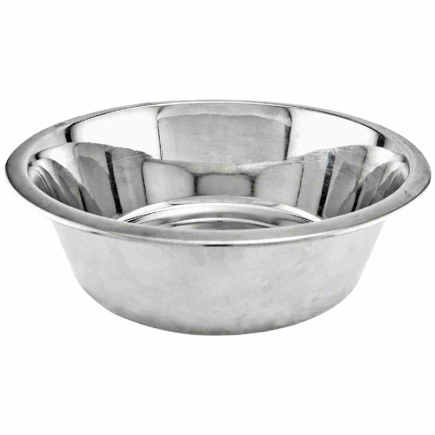 Westminster Pet Ruffin' it Stainless Steel Round 2 Qt. Pet Food Bowl Image 1