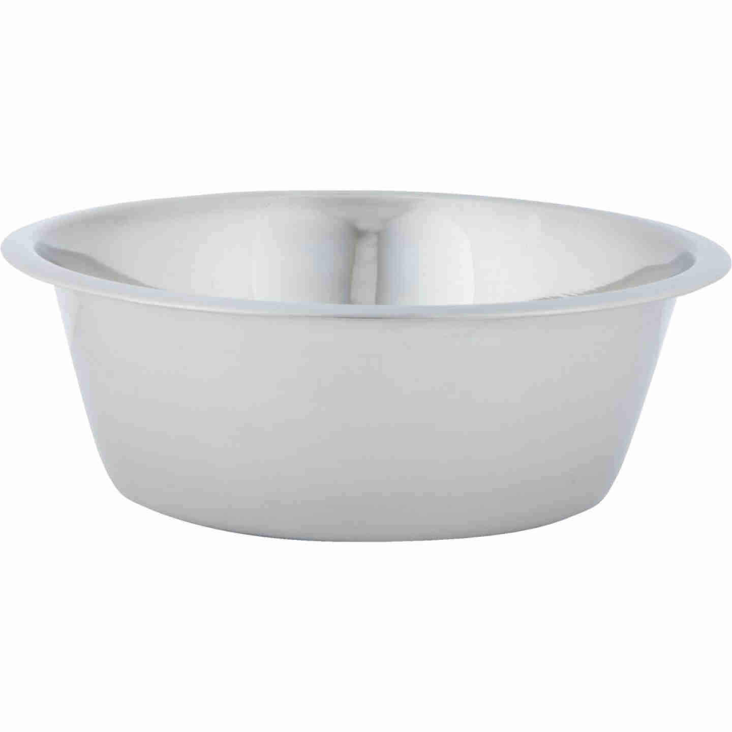 Westminster Pet Ruffin' it Stainless Steel Round 2 Qt. Pet Food Bowl Image 3