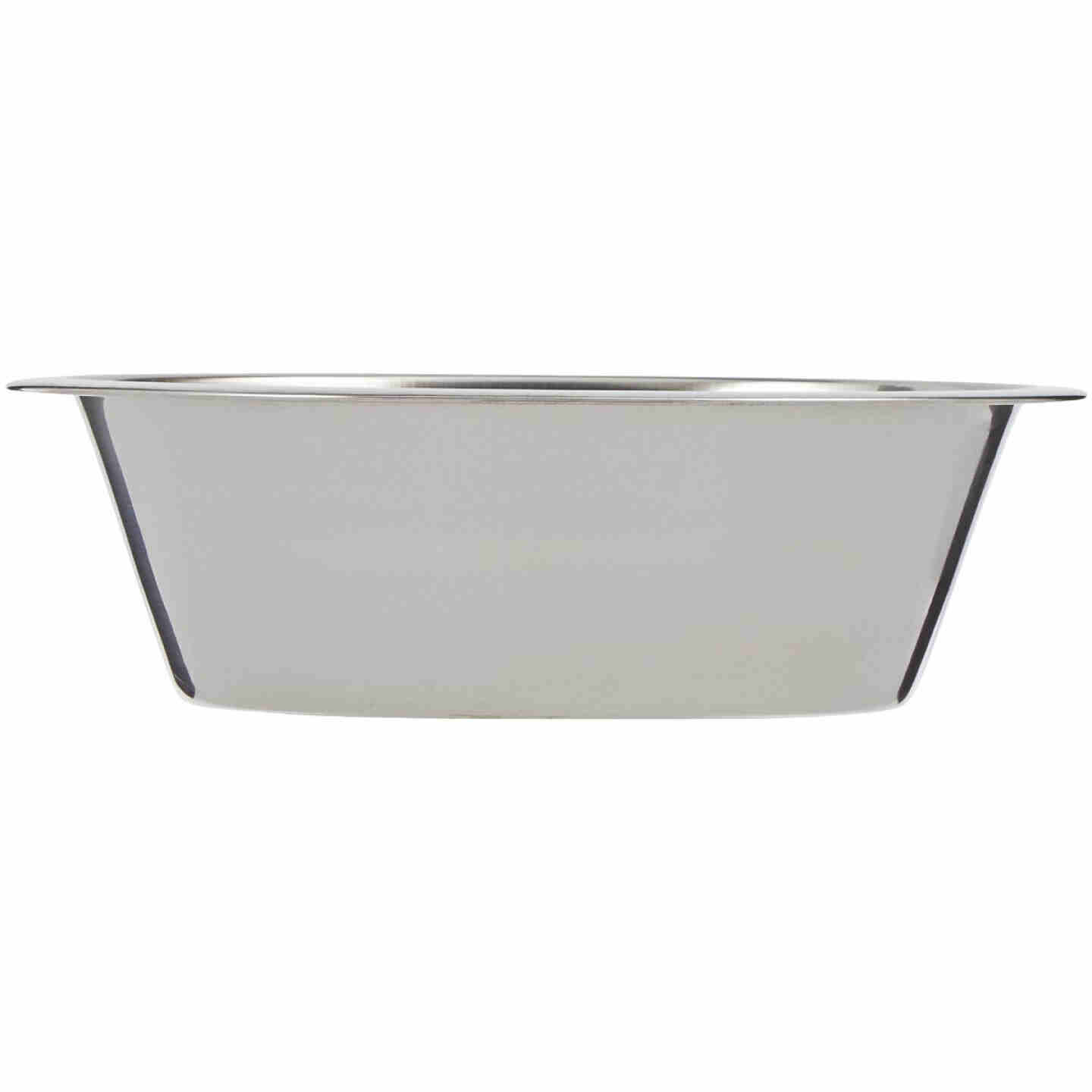 Westminster Pet Ruffin' it Stainless Steel Round 2 Qt. Pet Food Bowl Image 2