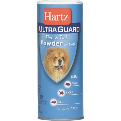Hartz UltraGuard 7-Day 4 Oz. Powder Flea & Tick Treatment For Dogs