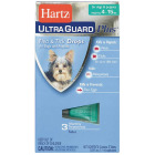 Hartz UltraGuard Plus 3-Month Supply Flea & Tick Drops For Dogs & Puppies 4 To 15 Lb. Image 1