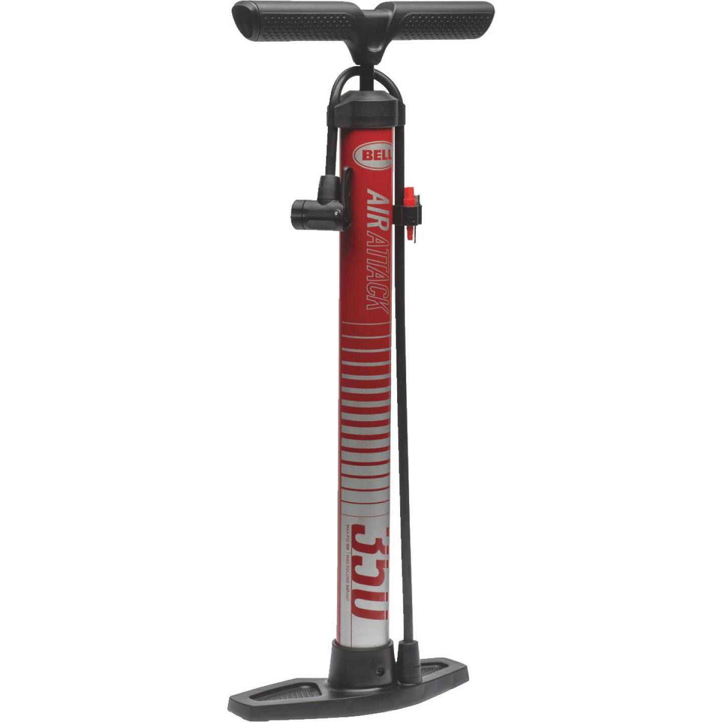 Bell Sports Air Attack Schrader Valve 100 PSI Bicycle Floor Pump Image 1