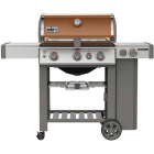 Weber Genesis II SE-330 3-Burner Copper 39,000 BTU LP Gas Grill with 12,000 BTU Side -Burner Image 1